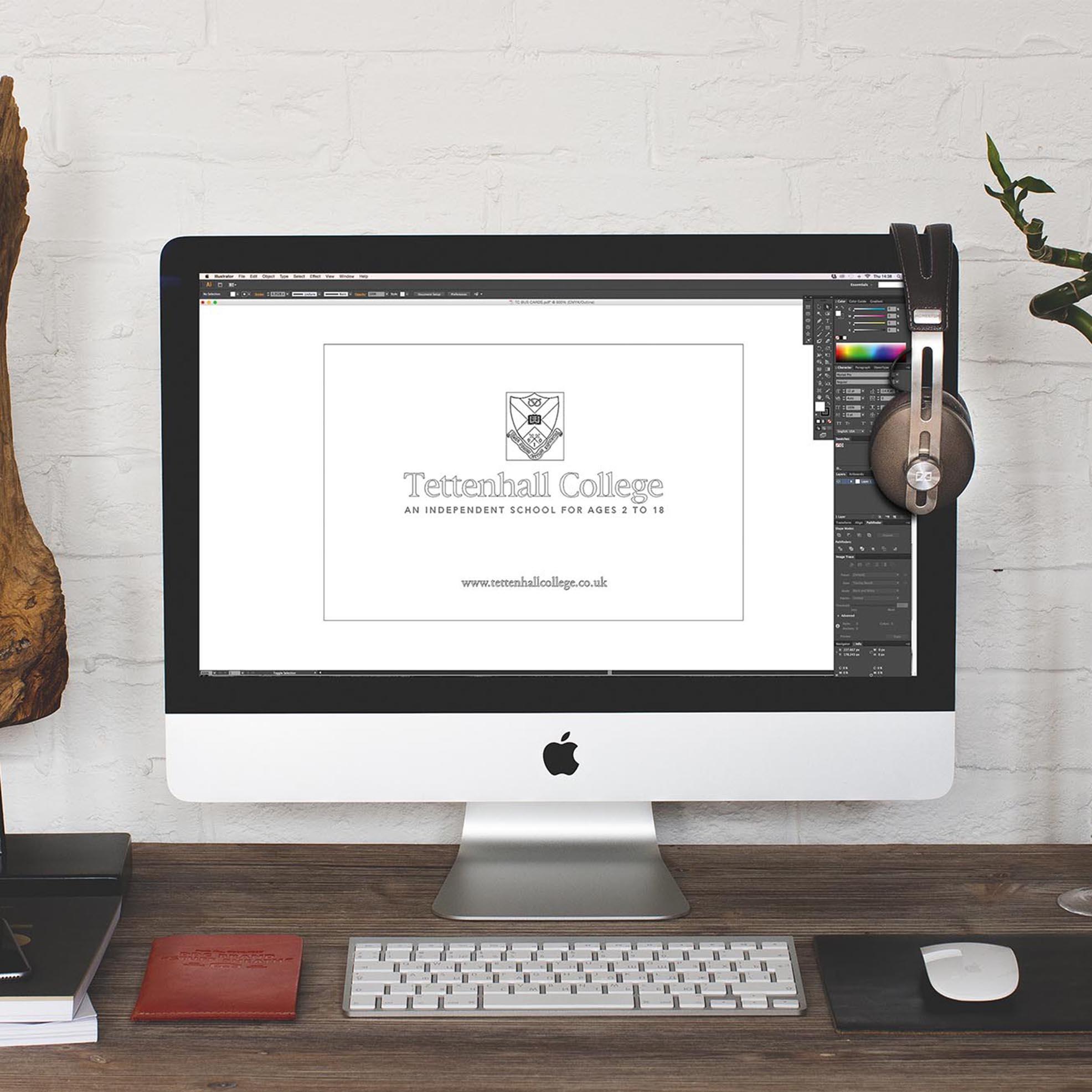 Tettenhall College Logo Imac