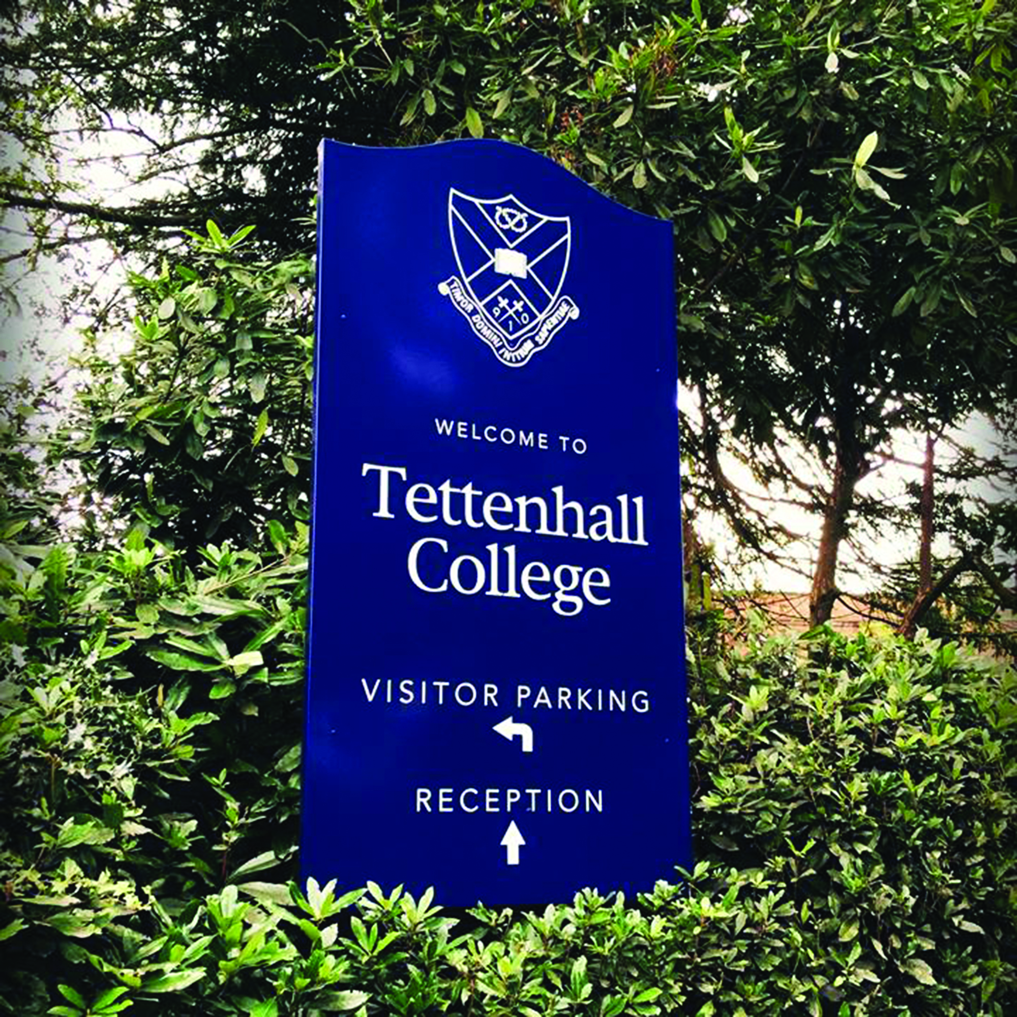 Tettenhall College Sign