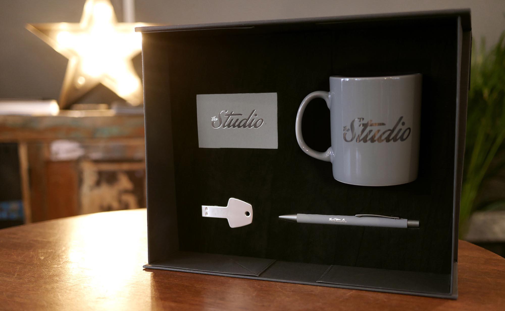 The Studio Luxury Branding Box