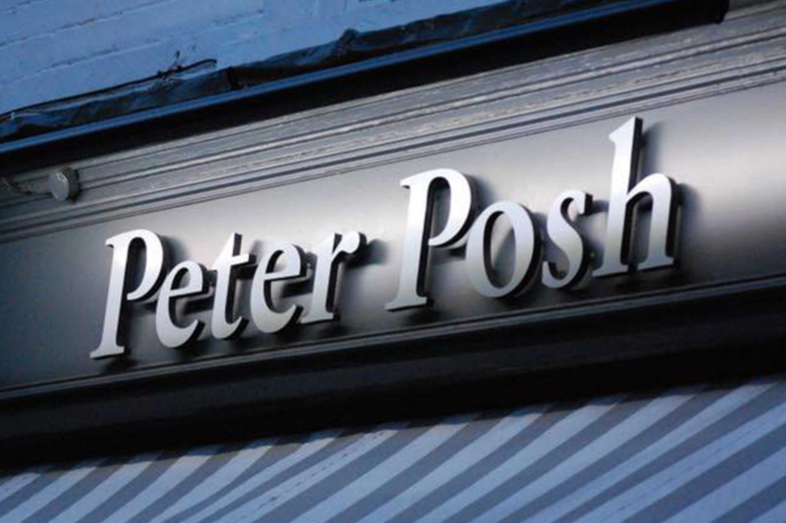 Peter Posh Signage