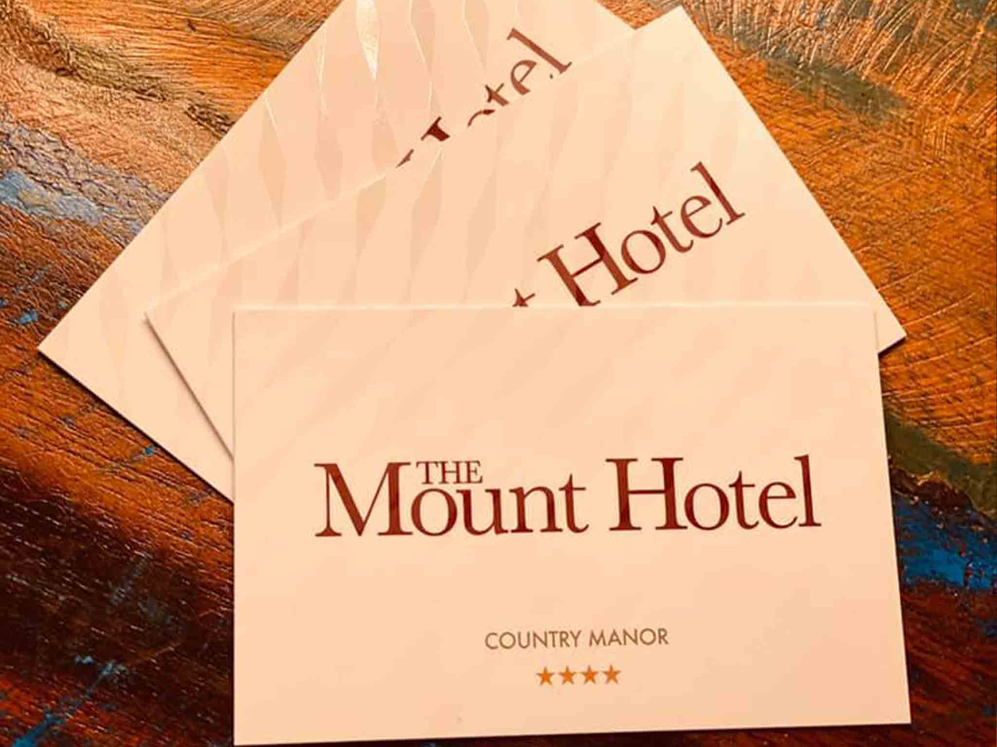 The Mount Hotel Business Card Design Print